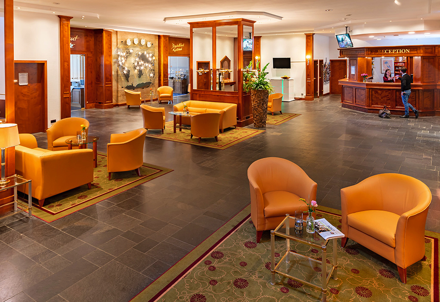 Best Western AHORN Hotel Oberwiesenthal, Lobby