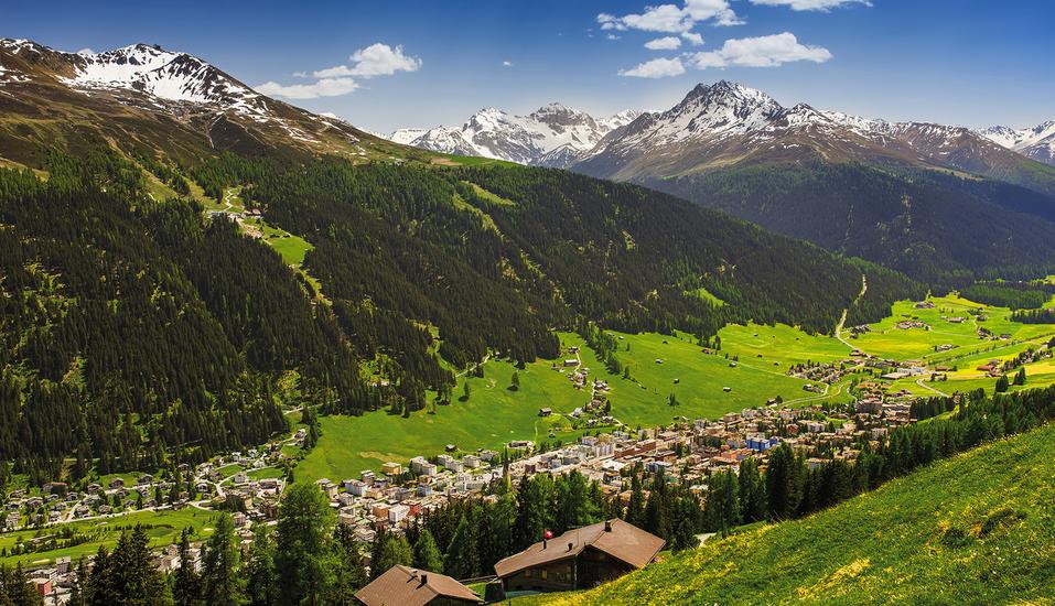 Central Sporthotel in Davos, Panorama Davos
