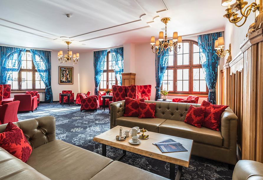 Central Sporthotel in Davos, Lobby