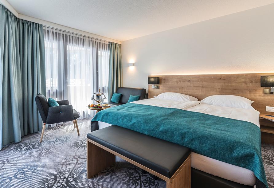 Central Sporthotel in Davos, Beispiel Doppelzimmer Superior