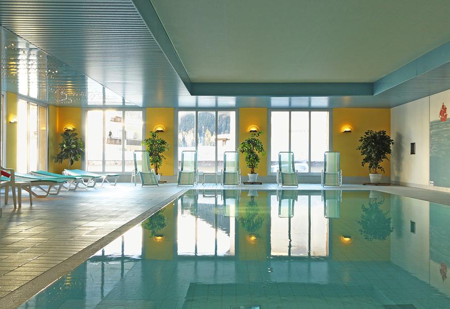 Central Sporthotel in Davos, Hallenbad