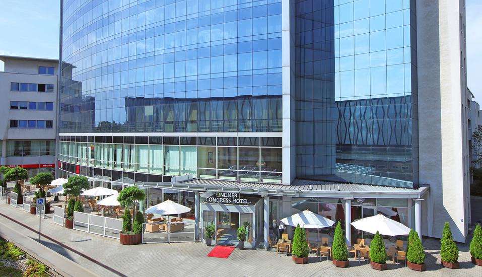 Lindner Congress Hotel Cottbus, Außenansicht