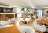 Hotel Niriides in Kolymbia, Rhodos Griechenland, Lobbybar