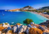 Hotel Niriides in Kolymbia, Rhodos Griechenland, Lindos