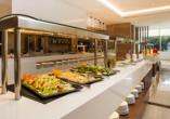 Hotel Niriides in Kolymbia, Rhodos Griechenland, Buffet