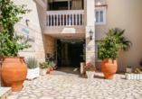 Hotel Angela Beach in Roda auf Korfu, Eingangsbereich