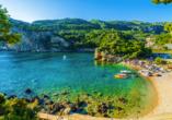 Hotel Angela Beach in Roda auf Korfu, Paleokastritsas