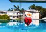 Ostseehotel Villen im Park in Bansin, Pool