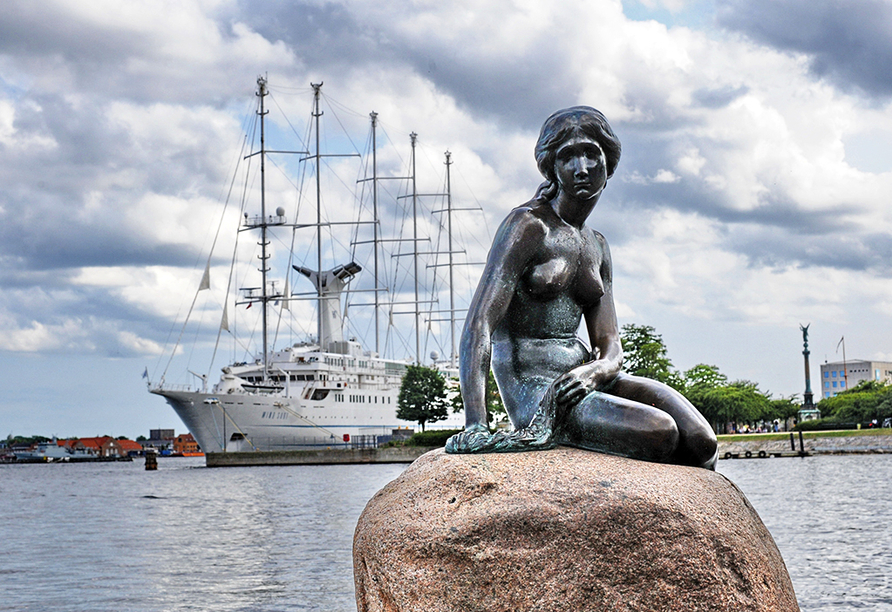 Kurzreise Dänemark, Meerjungfrau