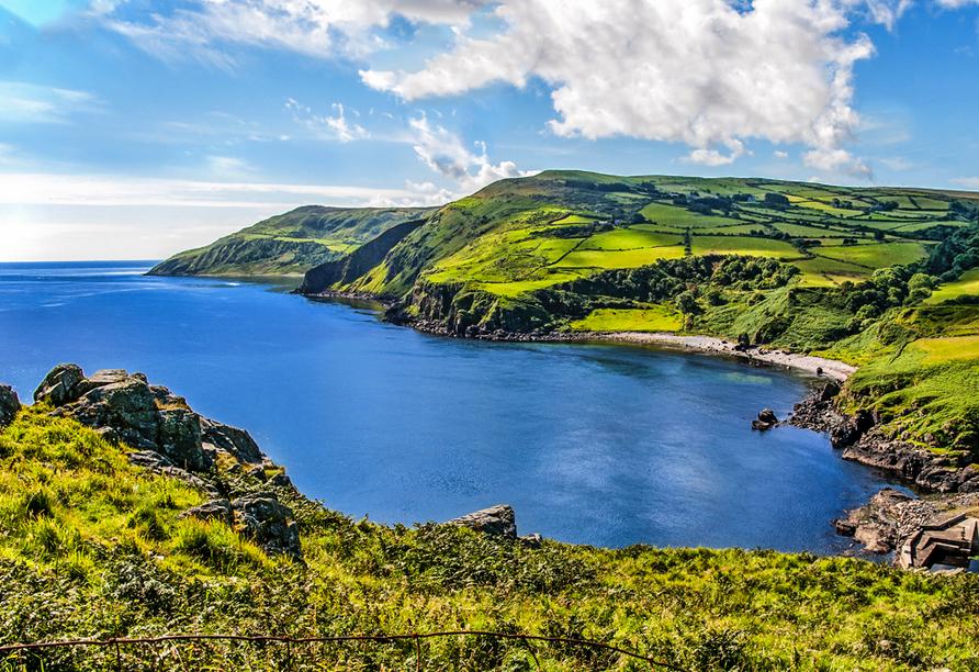 Rundreise Nordirland, Küste im County Antrim