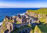 Rundreise Nordirland, Burg Dunluce