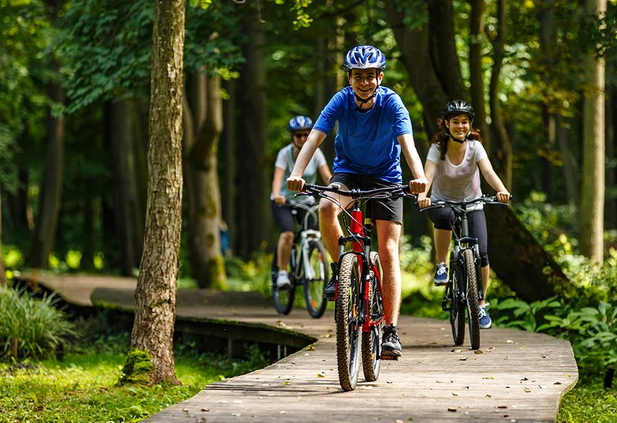 MS Marylou, Fahrradtour durch den Spreewald
