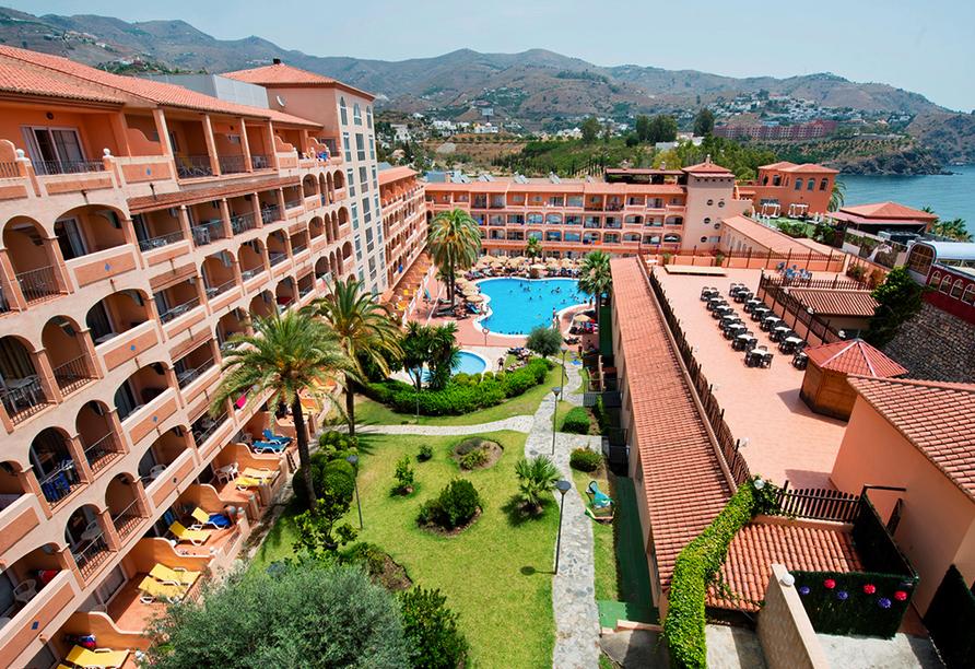 Hotel Bahia Tropical in Almuñécar, Costa Tropical, Hotelanlage