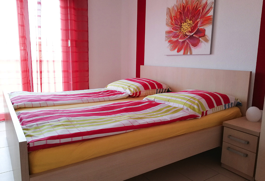 Apartmentanlage Juric in Trogir, Schlafzimmerbeispiel