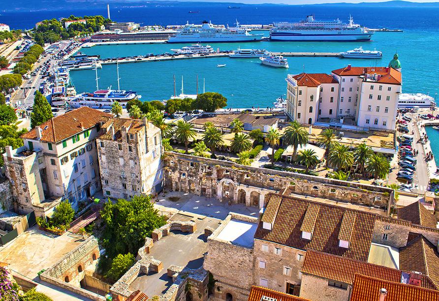 Apartmentanlage Juric in Trogir, Split