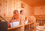 Natur Hotels See, Sauna