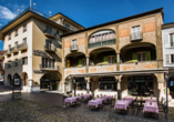 Hotel Dell`Angelo in Locarno, Außenansicht