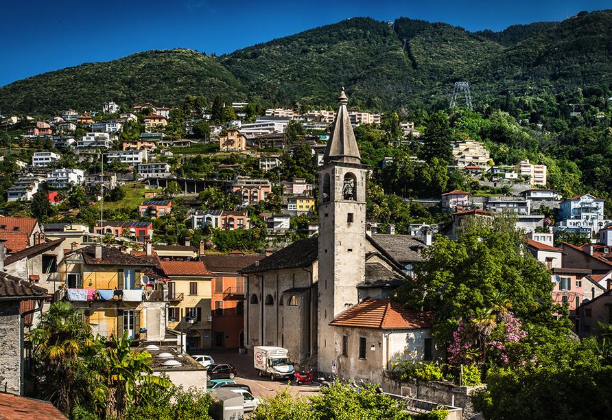 Hotel Dell`Angelo in Locarno, Locarno