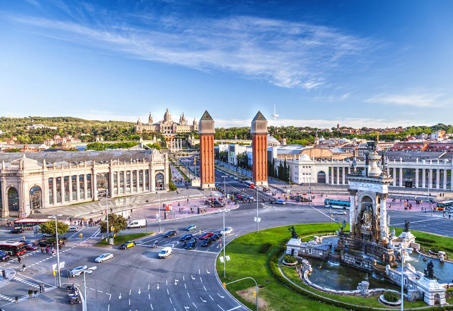 Freuen Sie sich auf eine spannende Stadtrundfahrt durch die sehenswerte Metropole Barcelona.