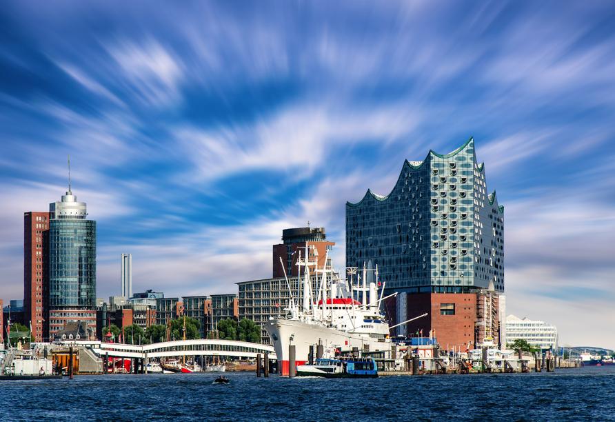 PLAZA Inn Hamburg Moorfleet, Elbphilharmonie