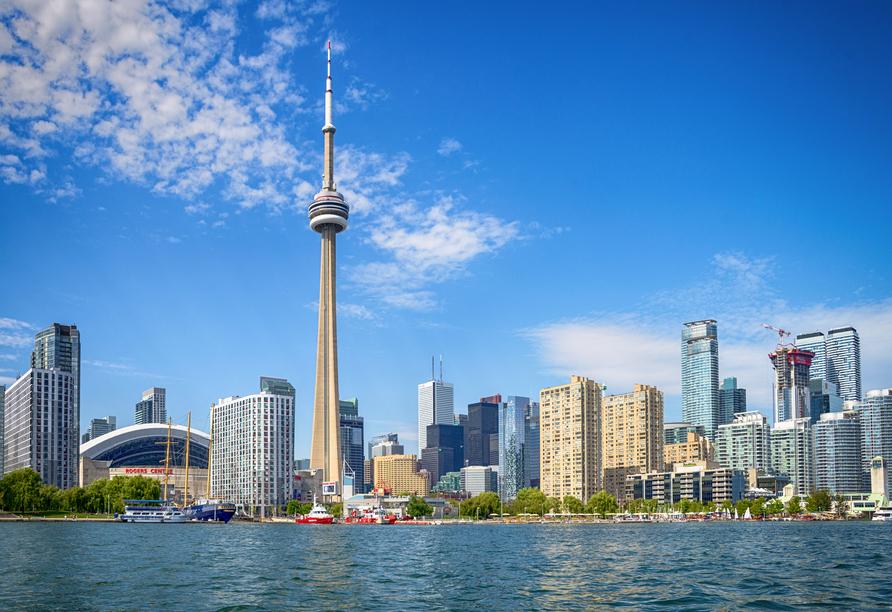Kanadas Highlights von Ost nach West, Skyline Toronto