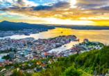 MSC Preziosa, Hafen von Bergen