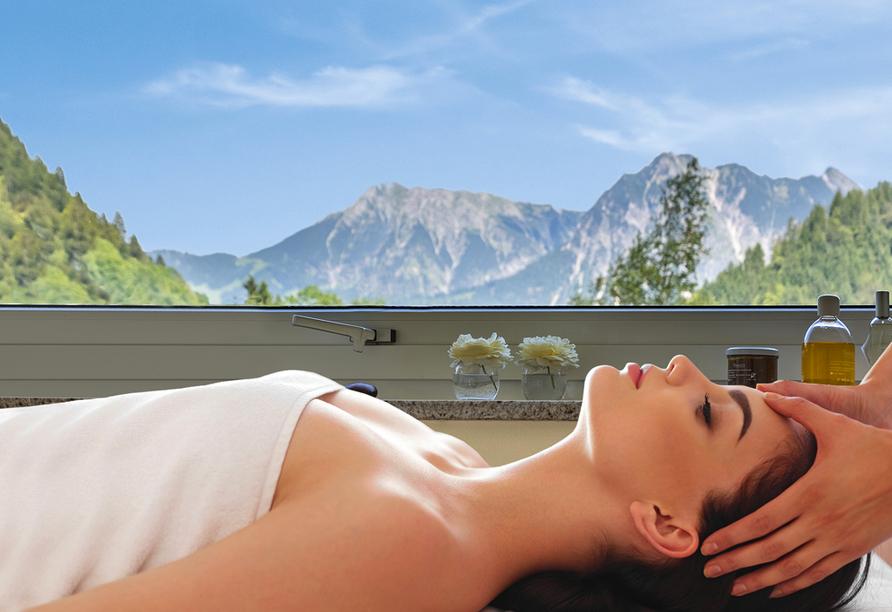 Alpenhotel Oberstdorf, Wellnessanwendungen