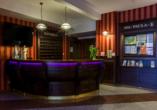Hotel Paula Spa in Poberow, Rezeption
