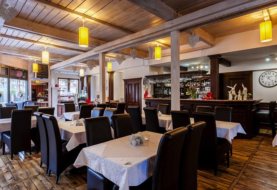 Hotel Paula Spa in Poberow, Restaurant