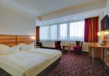 Ferien Hotel Rennsteigblick in Friedrichroda, Beispiel Doppelzimmer Panorama