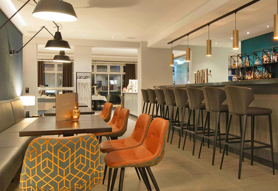 Ringhotel VITALHOTEL ambiente Bad Wilsnack in Brandenburg, Renovierter Barbereich