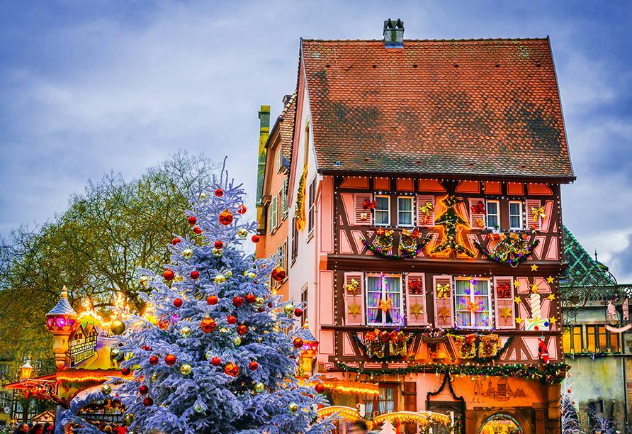 Hotel Campanile Colmar Parc des Expositions im Elsass, Colmar Weihnachtsmarkt