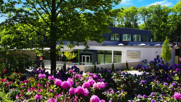 Land-gut-Hotel Sockenbacher Hof in Waldbrunn, Katzenbuckel-Therme