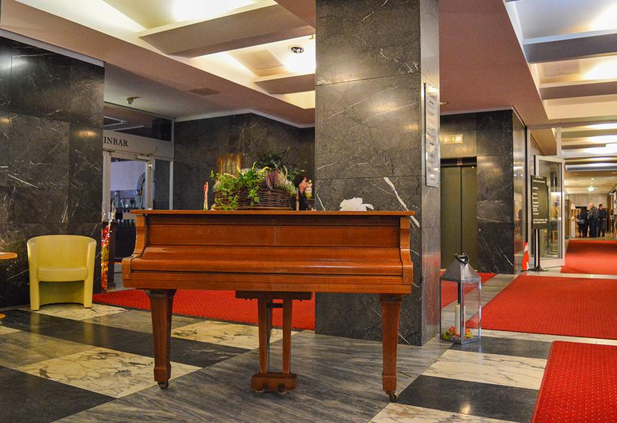Carea Residenz Hotel Harzhöhe in Goslar-Hahnenklee, Empfangsbereich
