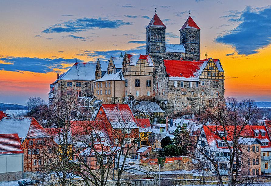 Panorama Ferien Hotel Harz, Stiftskirche St. Servatius in Quedlinburg