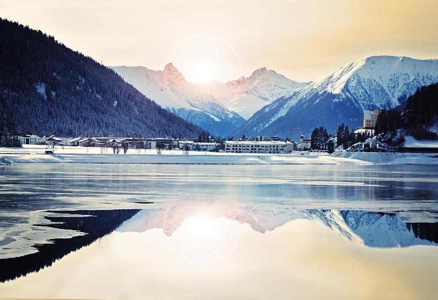 Hotel Meierhof Davos, Schweiz, Winter