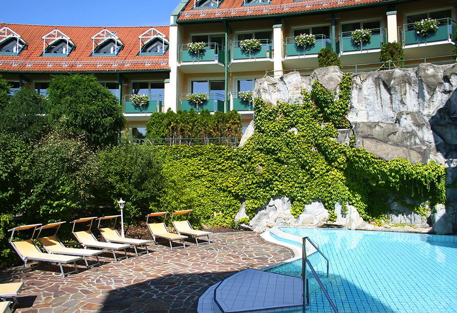 Thermenhotel Viktoria in Bad Griesbach, Außenpool