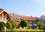 Thermenhotel Viktoria in Bad Griesbach, Außenansicht der Gebäude