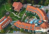 Thermenhotel Viktoria in Bad Griesbach, Luftaufnahme