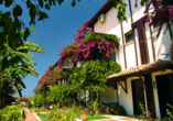 Club Hotel Titan in Alanya, Außenbereich