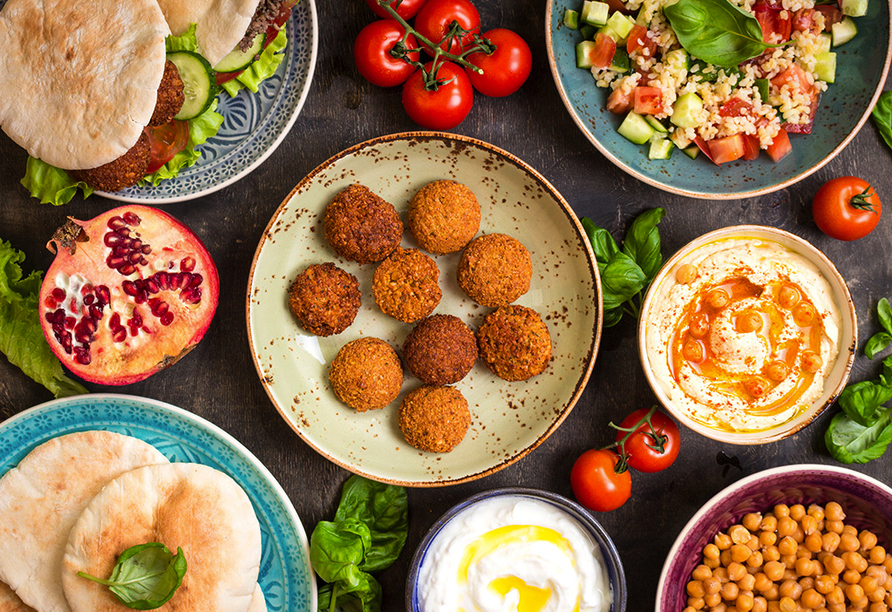 Club Hotel Titan in Alanya, Türkische Küche