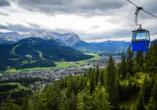 Wanderreise Starnberger See und Garmisch, Seilbahn Wank