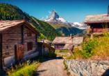 Hotel Holiday, Zermatt, Schweiz, Landschaft