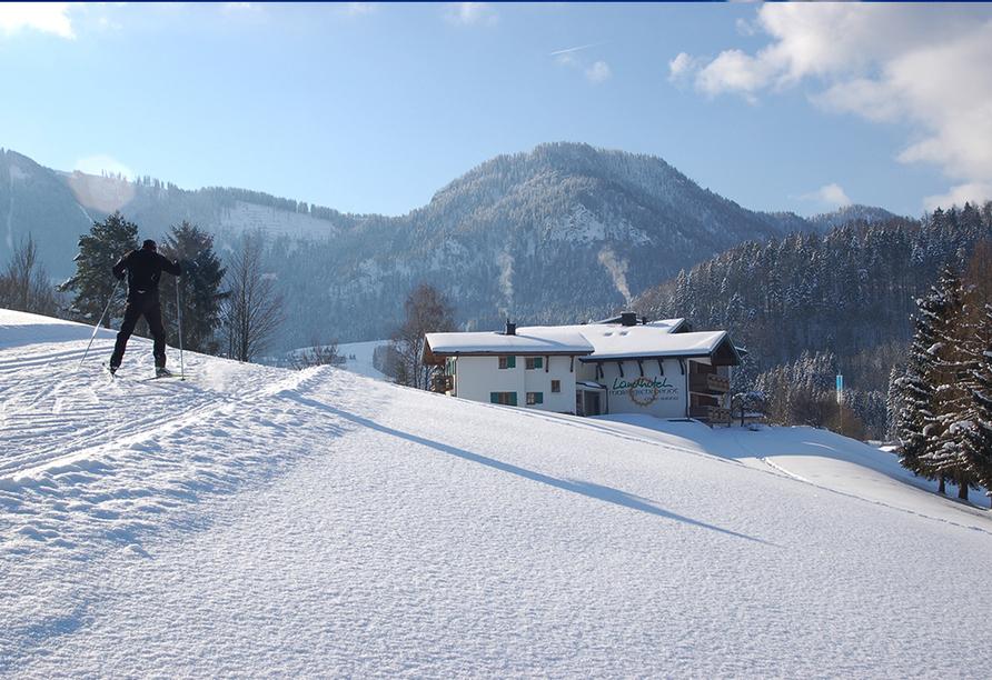 Landhotel Maiergschwendt Ruhpolding, Langlauf