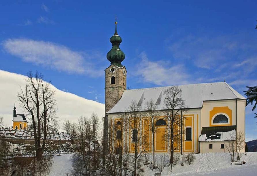 Landhotel Maiergschwendt, Sankt Georg Kirche