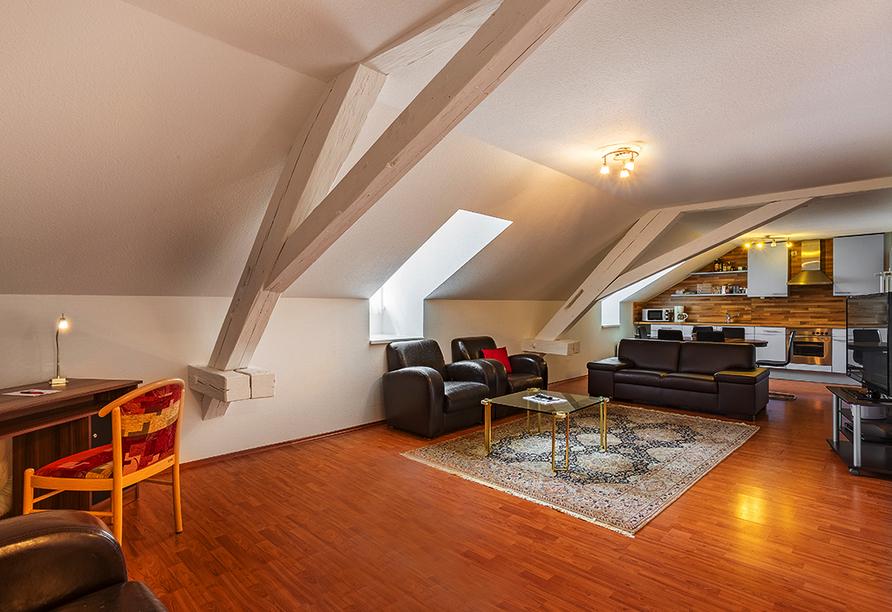 Kurhaushotel Bad Salzhausen in Nidda Wetterau, Appartement