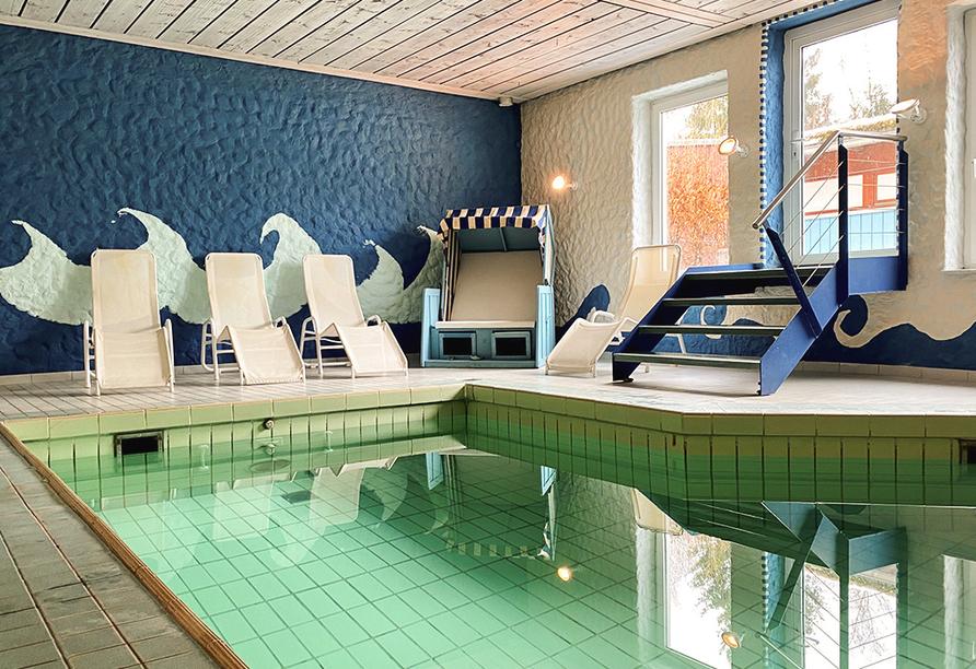 WAGNERS Hotel Schönblick in Fichtelberg, Hallenbad