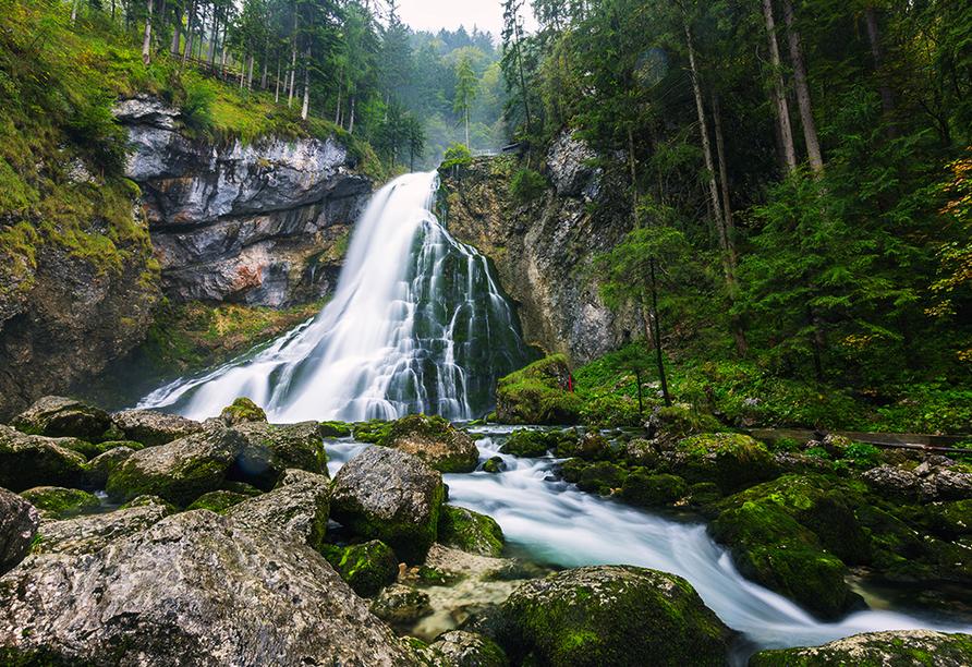 Salzalpensteig, Golling Wasserfall