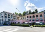 SHG Villa Carlotta in Belgirate Italien, Außenansicht