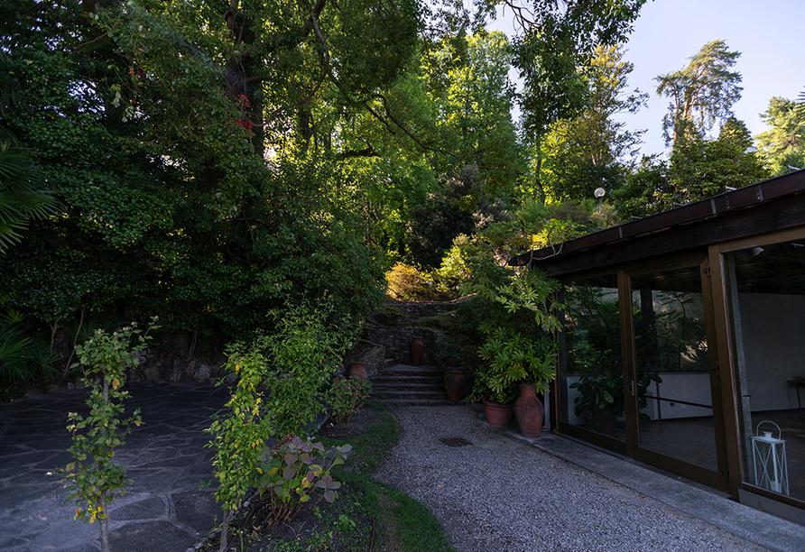SHG Villa Carlotta in Belgirate Italien, Garten
